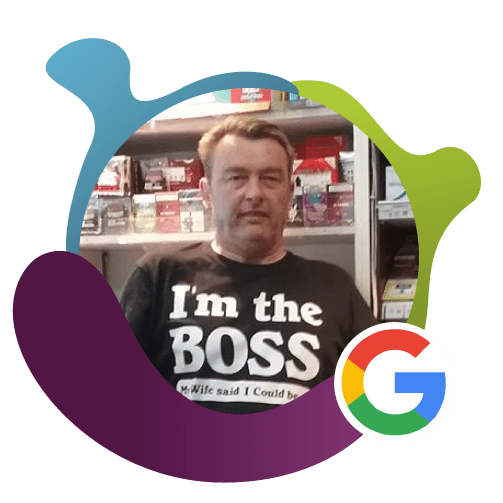 Lee Charles. google review. vision