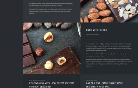 cenu cacao about us page