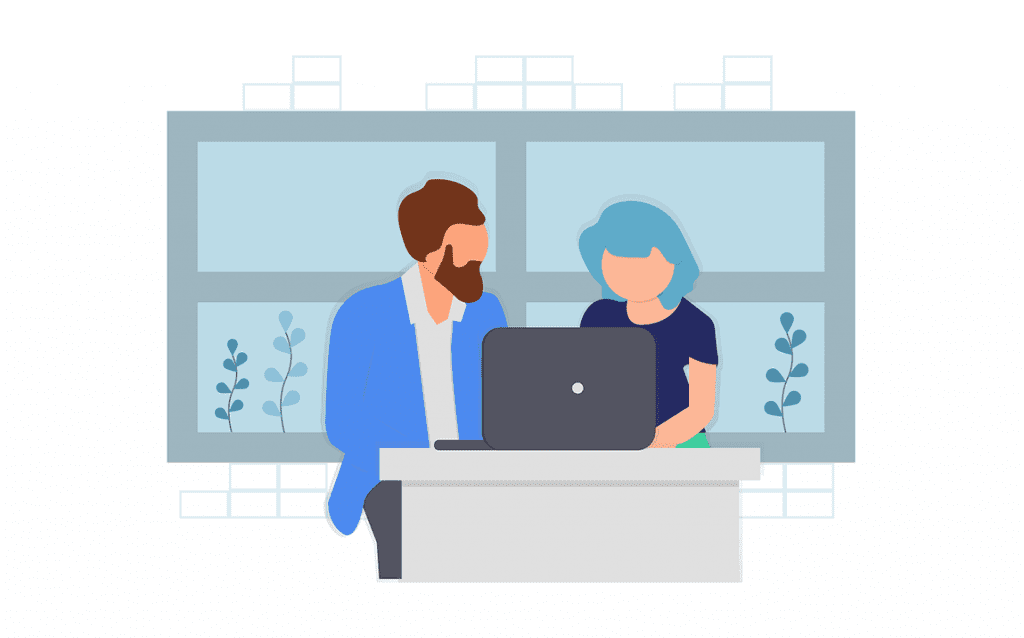 Consulting Illustration. consulting